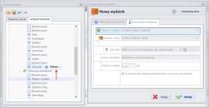 Dostosowywanie okna dodawania/edycji wydatków do własnych potrzeb - przeniesienie kontrolek