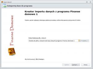 Import danych z FD1