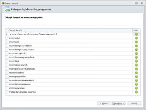 Import danych z FD1 - odczyt danych